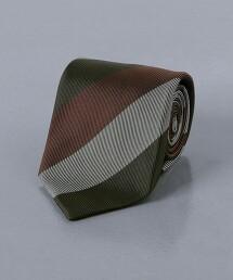 <UNITED ARROWS>3色 英式條紋 領帶 日本製