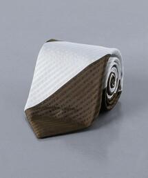 <UNITED ARROWS> 泡泡紗 直條紋領帶 日本製
