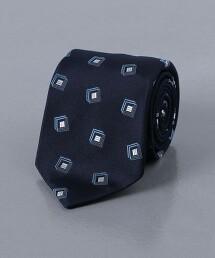 <UNITED ARROWS> 緹花織 素色領帶 日本製