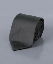 <UNITED ARROWS> 斜紋織 素色領帶 日本製