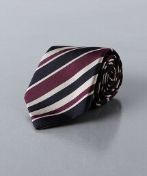 <UNITED ARROWS>斜條紋 領帶 日本製