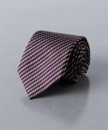 <UNITED ARROWS>緹花織 人字紋 領帶 日本製