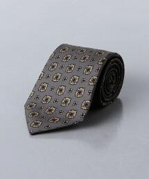 <UNITED ARROWS>印花 小紋領帶 日本製