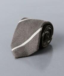 <UNITED ARROWS>英式條紋 領帶 日本製