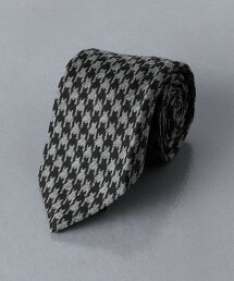 <UNITED ARROWS> 狩獵俱樂部格紋 領帶 日本製