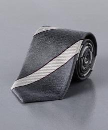 <UNITED ARROWS> 緹花斜紋領帶