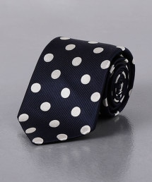 <UNITED ARROWS> 波爾卡圓點領帶