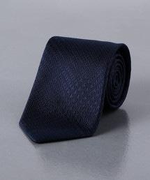 <UNITED ARROWS> 緹花格紋領帶