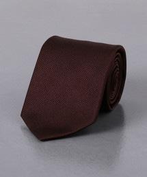 <UNITED ARROWS> 綾織素面領帶