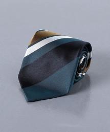 <UNITED ARROWS> 藍色斜紋領帶