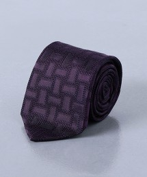 <UNITED ARROWS> 陰影 緹花 領帶 日本製