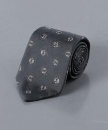 <UNITED ARROWS> 小花紋 緹花領帶