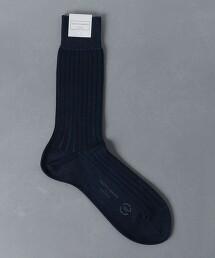 <UNITED ARROWS> 雙色調 長襪