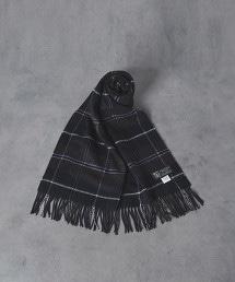 【特別訂製商品】<JOHNSTONS> CA/W 格紋披肩圍巾50×190