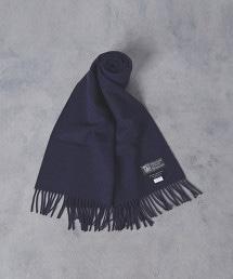 【特別訂製商品】<JOHNSTONS> 2PL 素色圍巾35×170