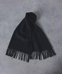 UADB 粉筆條紋 圍巾