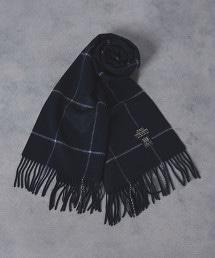 UADB 窗格紋 圍巾