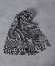 UADB 千鳥格花紋 圍巾