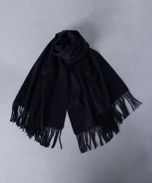 <UNITED ARROWS> 素色喀什米爾圍巾 OUTLET商品