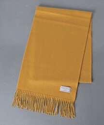 <UNITED ARROWS> 喀什米爾羊毛 素色圍巾