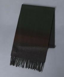 <UNITED ARROWS>  色彩梯度/圍巾