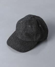 <KIJIMA TAKAYUKI>羊毛 厚呢 棒球帽 日本製