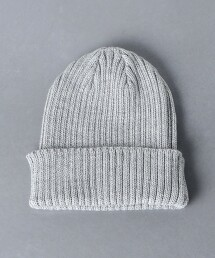 <KIJIMA TAKAYUKI> 羅紋 針織帽 日本製
