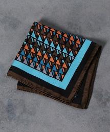 <Nicky> 方形印花口袋巾