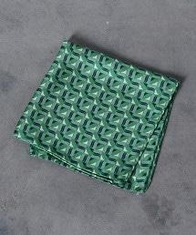 <Nicky>波浪印花口袋巾