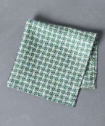 <Nicky> 小花紋印花口袋巾