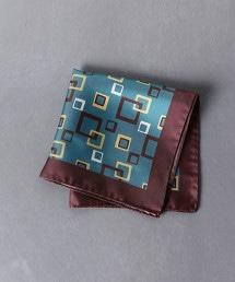 <STEFANO BIGI > 幾何學 方巾
