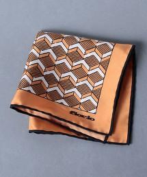 <FIORIO> 幾何圖形口袋巾