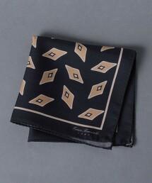 <ERRICO FORMICOLA> 幾何圖形 口袋巾