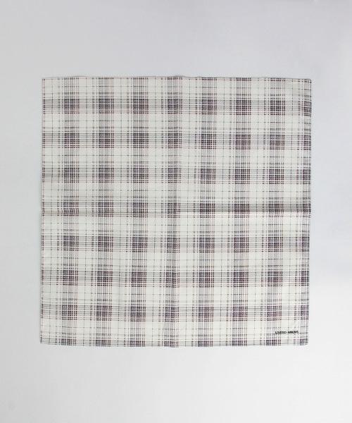 UA 純棉格紋手帕
