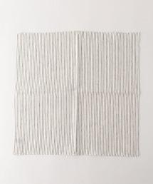 UDBS 亞麻條紋手帕