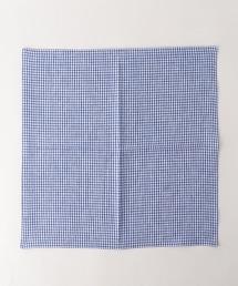 UDBS 亞麻格紋口袋巾