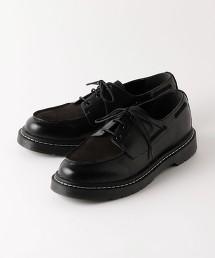 BY 拼接 帆船鞋 避震鞋墊 皮鞋