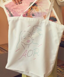 【WEB限定】 <AOR/Adult Oriented Records>×<info. BEAUTY&YOUTH> 托特包