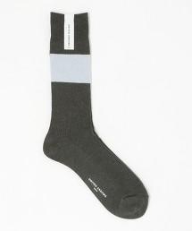 UA 圈圈紗 色塊標準長襪 日本製