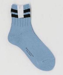 BY 雙線 3/4長襪 日本製