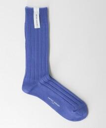 BY 絲光加工 羅紋 長襪 日本製