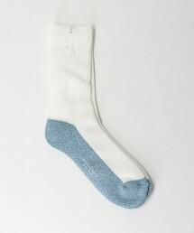 BY 雙色 寬羅紋襪 日本製