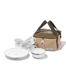 補貨預購【特別訂製】 <COLEMAN> ENAMELDISH SET/琺瑯餐具組
