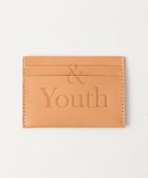 BY SOUVENIR &YOUTH 牛皮 卡夾 日本製