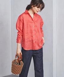 ○UBCB 亞麻標準彩色襯衫 18春夏款