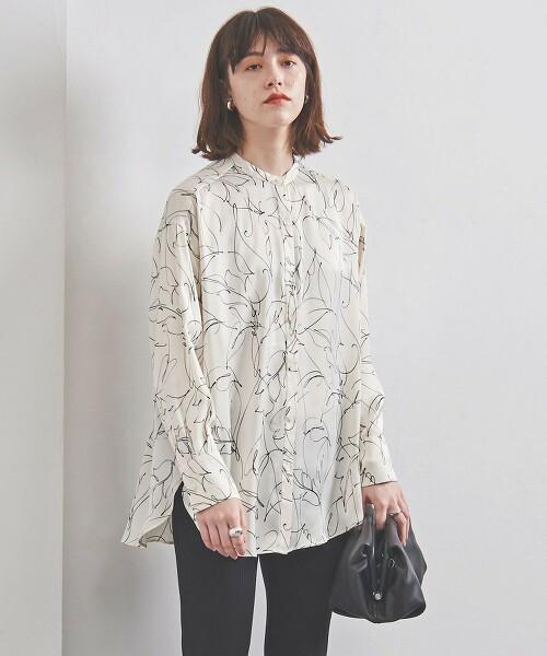 UWCS 樹葉印花襯衫 日本製