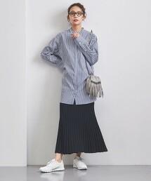 UWSC 立領 長版襯衫 21SS† 日本製