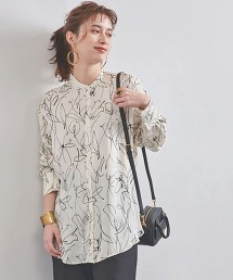 UWMSC 花朵 立領襯衫