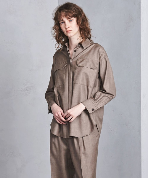 UGMSC W/S 雙口袋 寬版襯衫