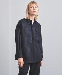 UGMSC 直條紋 2口袋 襯衫